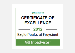 Trip Advisor Awards for Excellence Winner 2012