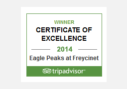 Trip Advisor Awards for Excellence Winner 2014